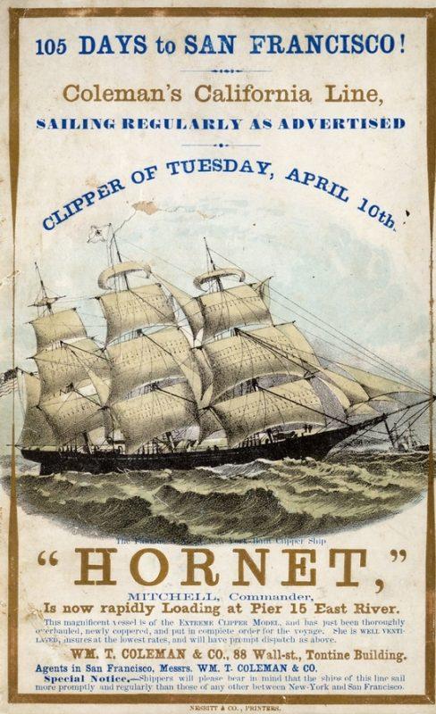 hornet clipper ship gadget