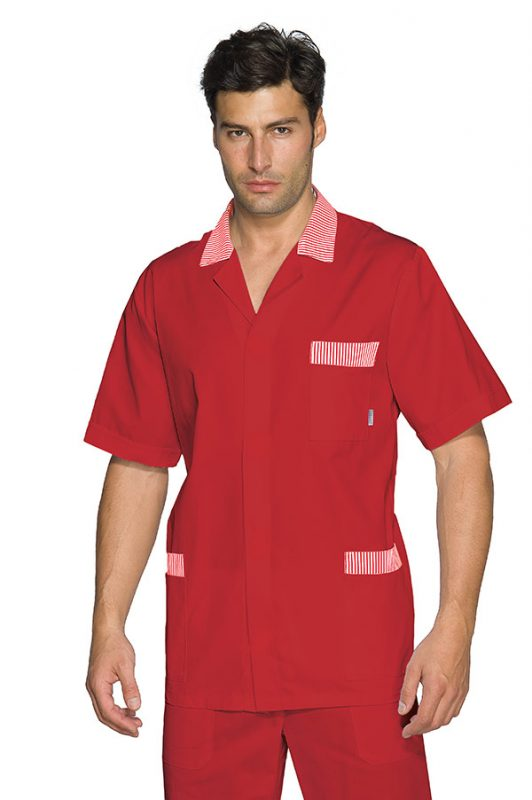 CASACCA PETER M/M ROSSO+R.ROSSO 65% POLYESTER  35% COTTON