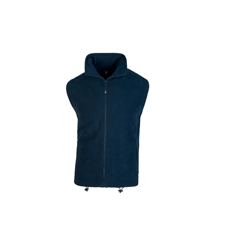 SUAVE – GILET IN PILE CON COLLO A LUPETTO